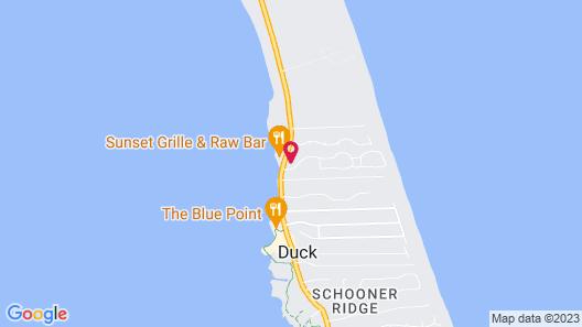 Barrier Island Station, a VRI resort Map