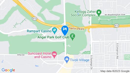 JW Marriott Las Vegas Resort & Spa Map