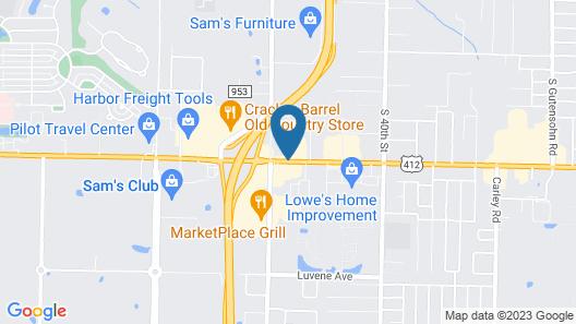 DoubleTree Club by Hilton Springdale Map