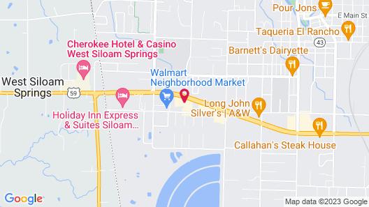 Quality Inn Siloam Springs West Map
