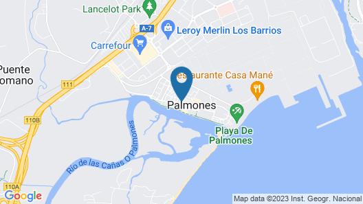 H. Palmones Map