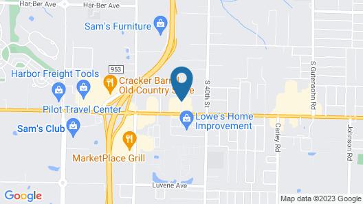 Fairfield Inn & Suites by Marriott Springdale Map