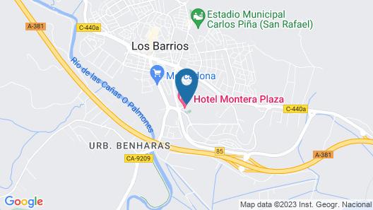 Montera Plaza Map