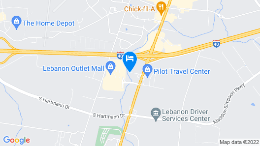 La Quinta Inn & Suites by Wyndham Lebanon Map