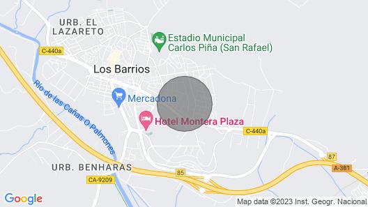 House Chalet Las Camelias Map