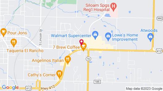 Hampton Inn Siloam Springs Map