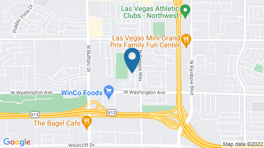 Las Vegas Luxury Vacation Villa Map