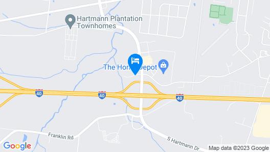 avid Hotel Nashville - Lebanon Map