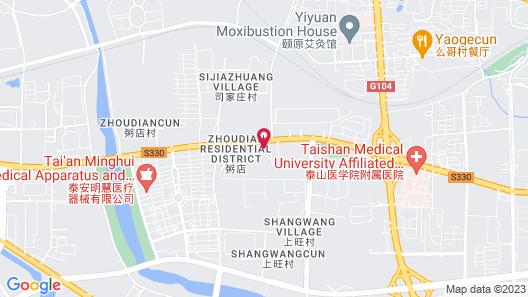 Motel 168 - Taian Map