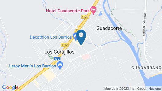 NH Campo De Gibraltar Map