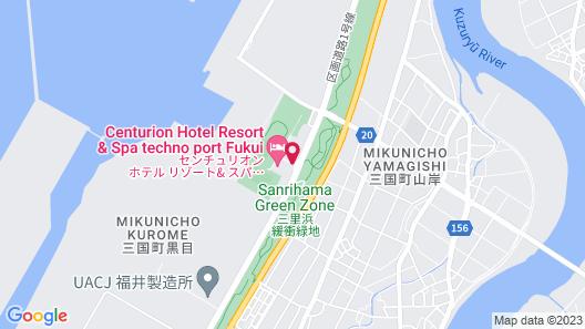 Centurion Hotel Resort&Spa Technoport Fukui Map