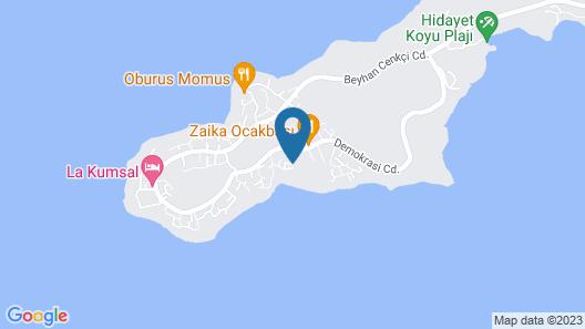 Jackey Boutique Hotel Map