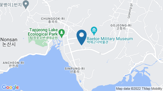 Nonsan Gyebaek Shuimtoe Camping Pension Map