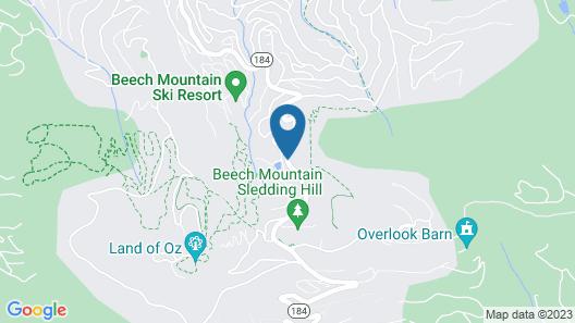 4 Seasons at Beech Mountain Map