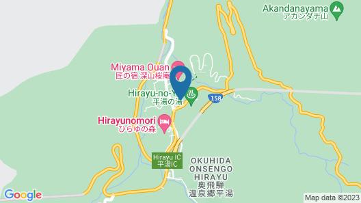 Hodakaso Sanganoyu Map
