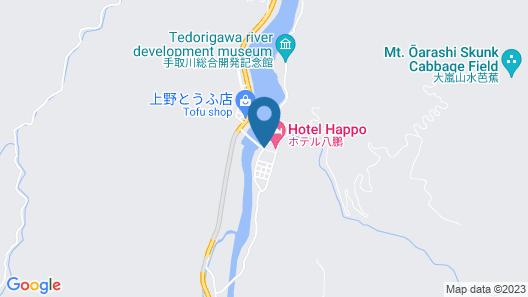 Shiramine Onsen Happo Map