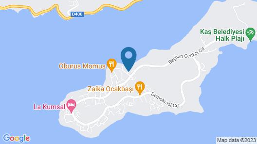 Club Capa Hotel Map