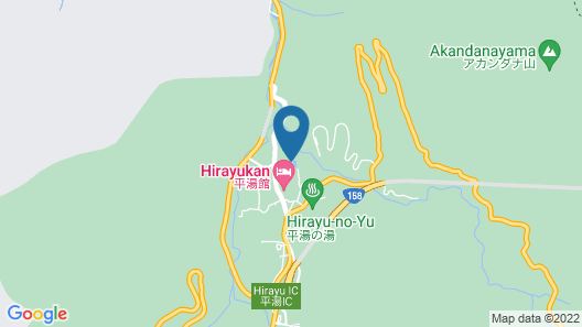 Takumi no Yado Miyama Ouan Map