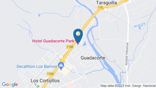 Hotel Guadacorte Park Map