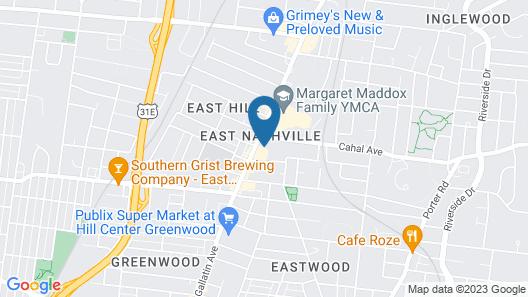 The Gallatin Nashville Map