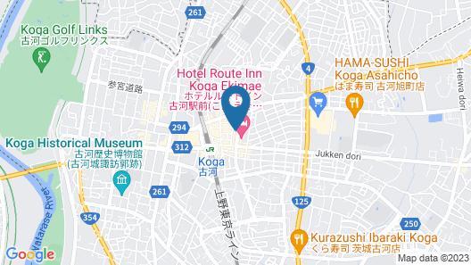 KOGA CENTRAL HOTEL Map