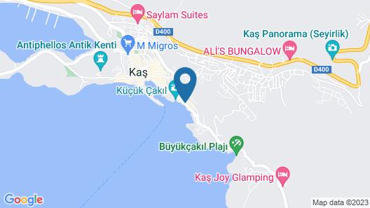 Medusa Hotel Map