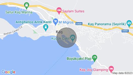 Albatros Q Gulet Cruise Map