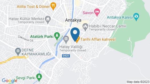 Luwi Antakya Boutique Hotel Map
