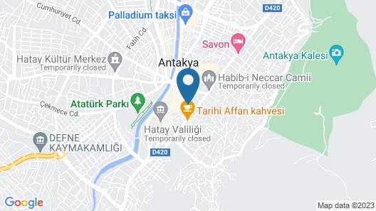 Jasmin Konak Otel Map