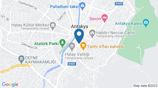 Mahallem Hotel Map