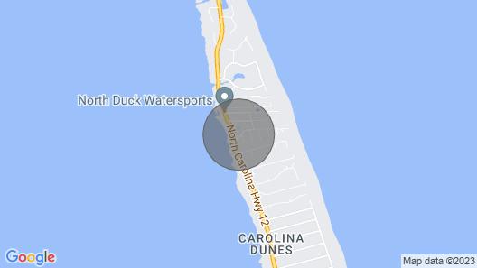 Beach House Rental Duck, NC Map