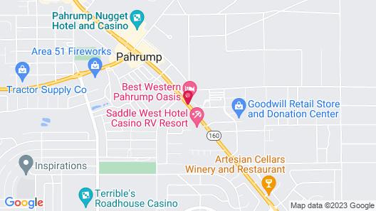 Best Western Pahrump Oasis Map