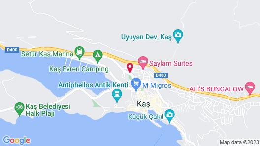 Dekatria Rooms&Aparts Map