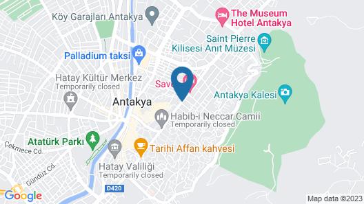 Savon Hotel - Special Class Map