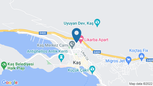 Saylam Suites Map