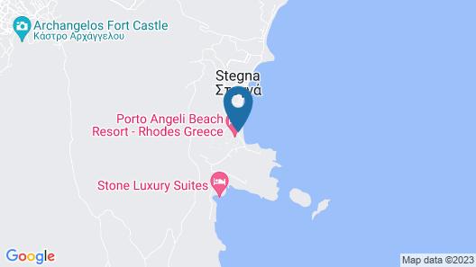 Porto Angeli Beach Resort – All Inclusive Map