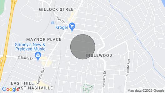 New! Lively E Nashville Pad; 1 Block to Dine, Shop Map