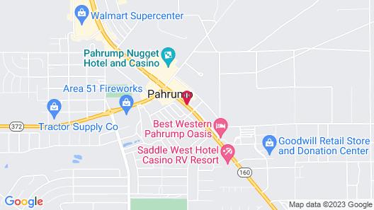 Holiday Inn Express & Suites Pahrump, an IHG Hotel Map