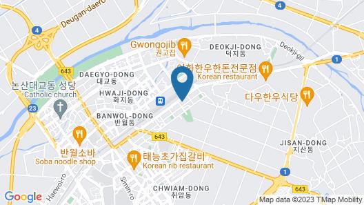 Yegrina Motel Map