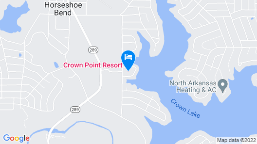 Crown Point Resort Map