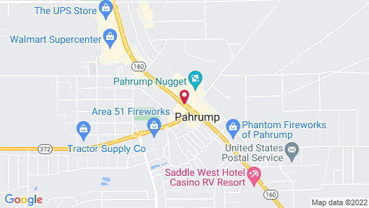 Pahrump Nugget Hotel and Casino Map