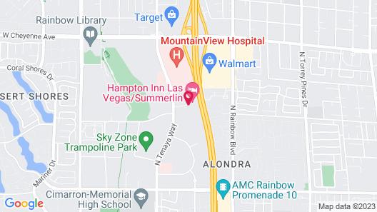 La Quinta Inn & Suites by Wyndham Las Vegas Summerlin Tech Map