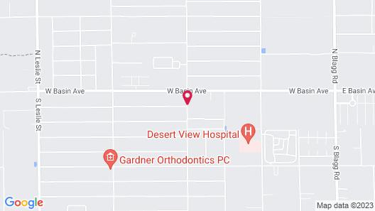 Pahrump RV Park & Lodging Map