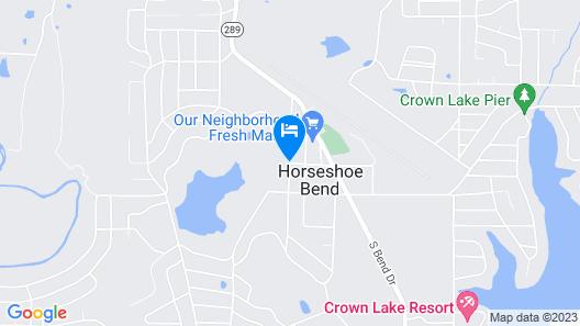 Cedar Glade Resort Map