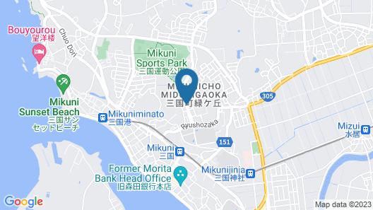 Ryokan Kazenomori Map