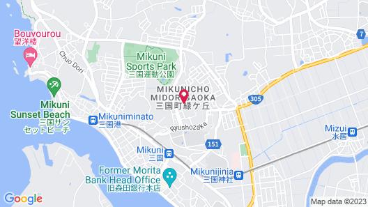 Mikuni Kanko Hotel Fukui Map