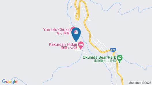 Ryokan Sansui Map