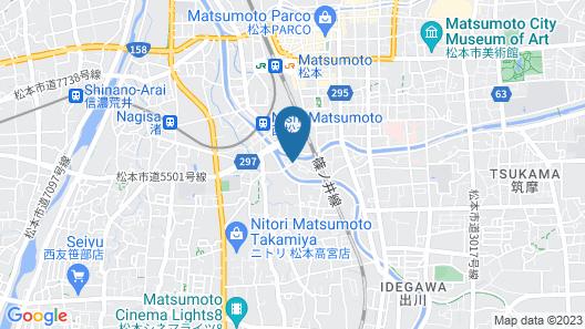 Ryokan Matsukaze Map