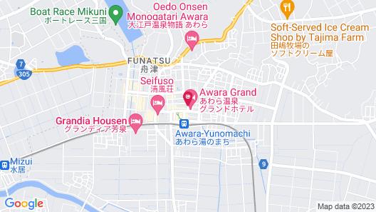 Awara Grand Hotel Map