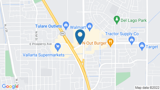 Holiday Inn Express & Suites Tulare, an IHG Hotel Map